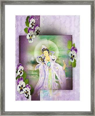 Malang Guanyin 1 Framed Print by Lanjee Chee