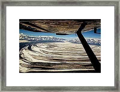 Malaspina Glacier Alaska Framed Print