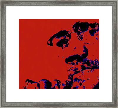 Malcolm X 5b Framed Print by Brian Reaves