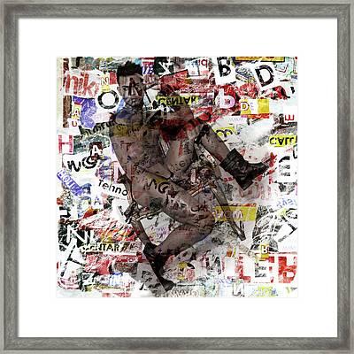 Male Figure Framed Print