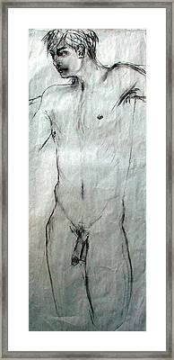 Male Nude 4798 Framed Print