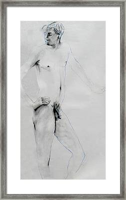 Male Nude 4803 Framed Print