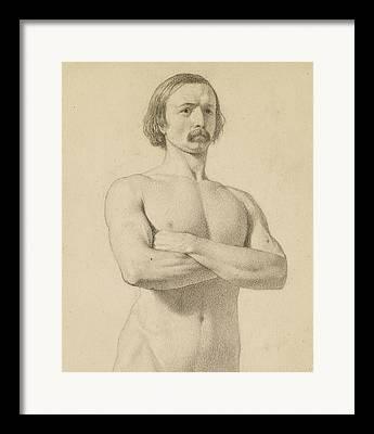 Academic Nudes Framed Prints
