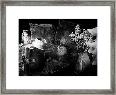 Male Vs Female Framed Print by Camille Lopez