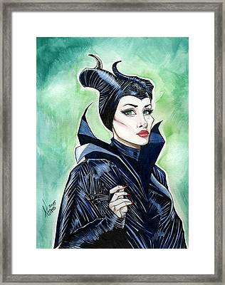 Maleficent Framed Print