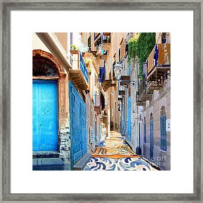Malfa Color Framed Print by Ayesha DeLorenzo