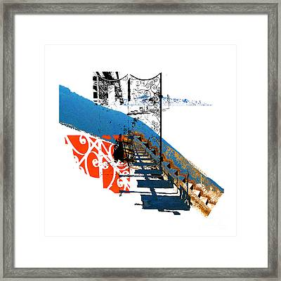 Malfa Shadows Framed Print by Ayesha DeLorenzo