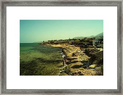 Malia Beach Framed Print by Rob Hawkins