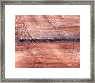 Malibu #32 Seascape Landscape Original Fine Art Acrylic On Canvas Framed Print