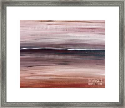 Malibu #33 Seascape Landscape Original Fine Art Acrylic On Canvas Framed Print