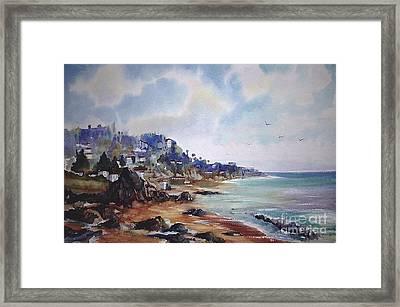 Malibu California Framed Print