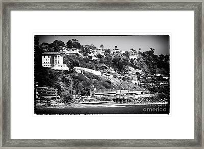 Malibu Living Framed Print by John Rizzuto