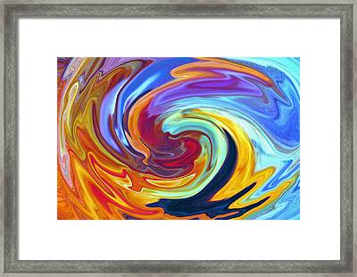 Malibu Waves Framed Print