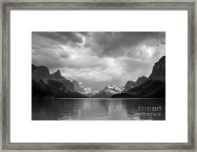 Maligne Lake Framed Print by Chris Scroggins