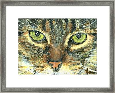 Malika Framed Print by Mary-Lee Sanders