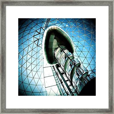 Mall Framed Print by Mark B