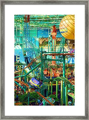 Mall Of America Framed Print by Rich Beer