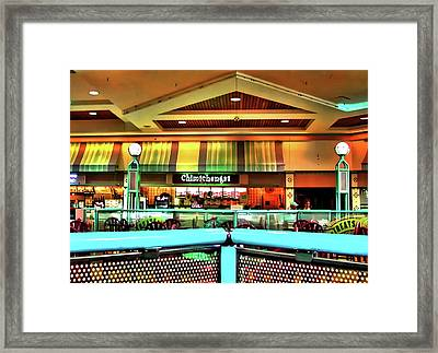 Mall Scape Framed Print by Francesco Roncone