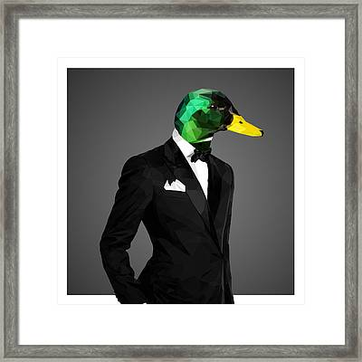 Mallard Duck 2 Framed Print