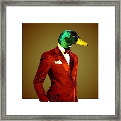 Mallard Duck 4 Framed Print