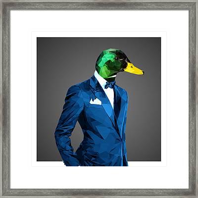 Mallard Duck Framed Print