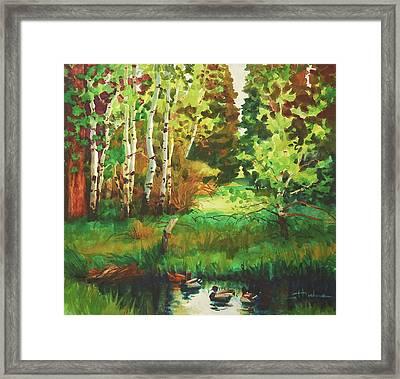 Mallard Grove Framed Print