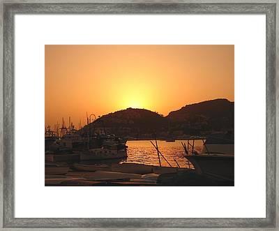 Framed Print featuring the photograph Mallorca 1 by Ana Maria Edulescu