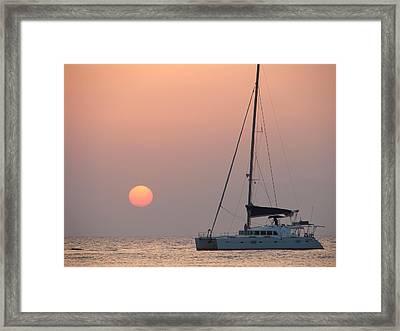 Framed Print featuring the photograph Mallorca 3 by Ana Maria Edulescu