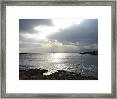 Framed Print featuring the photograph Mallorca by Ana Maria Edulescu