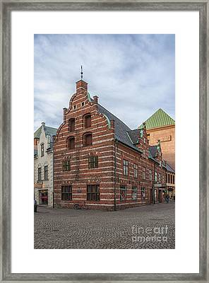 Malmo Old City Center Building Framed Print by Antony McAulay