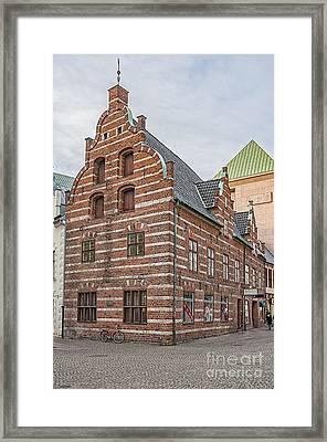 Malmo Old Town House Framed Print by Antony McAulay