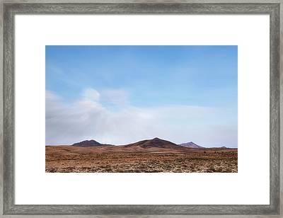 Malpais De La Arena - Fuerteventura Framed Print by Joana Kruse