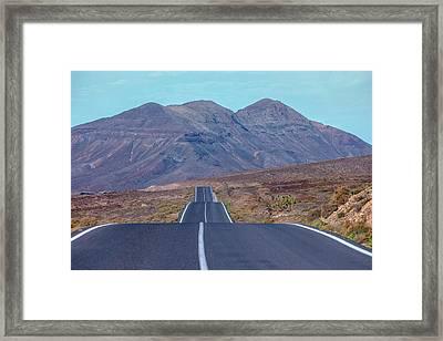 Malpais Grande - Fuerteventura Framed Print