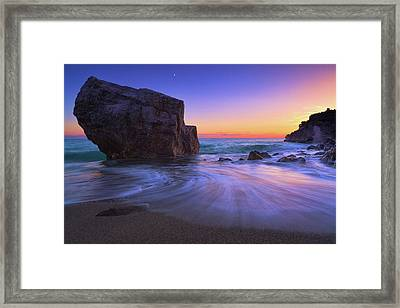 Malpasso Beach Framed Print