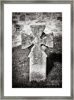 Malta Cross   Framed Print by Olivier Le Queinec