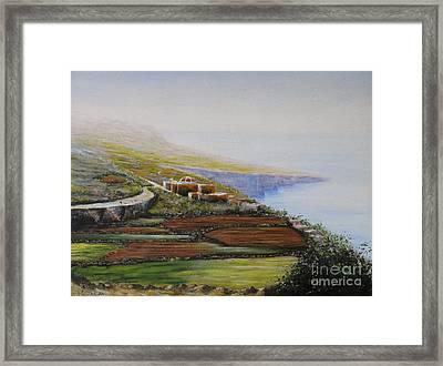 Malta Fawwara Chapel Framed Print