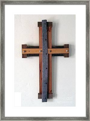 Maltese Cross Framed Print