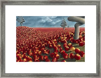 Malus Arvum Framed Print by Patricia Van Lubeck
