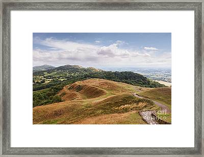 Malvern Hills Framed Print by Colin and Linda McKie