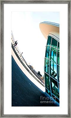 Mam Curved Framed Print
