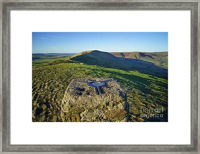 Mam Tor Views Framed Print
