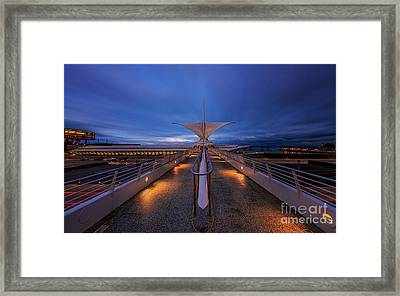 Mam Twilight Framed Print