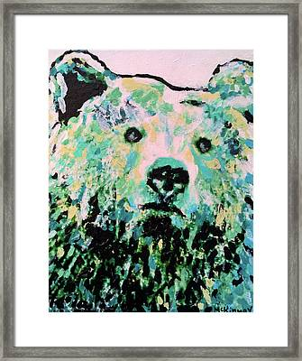 Mama Bear Framed Print by Lisa McKinney