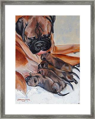 Mama Love Framed Print