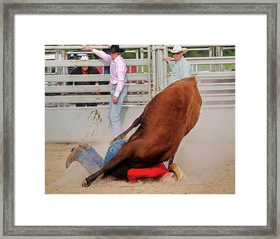 Mama Said There Would Be Days Like This Framed Print by Ron  McGinnis