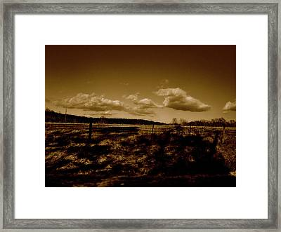 Mama Said There'll Be Days Like This Framed Print by Katie Ransbottom