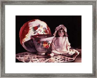 Mama's Doll Framed Print by Patricia Halstead