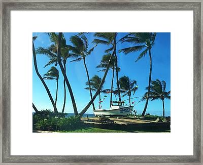 Mama's Fish House - Maui Framed Print by Stacia Blase