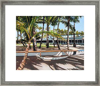 Mama's Fish House Framed Print by Stacy Vosberg