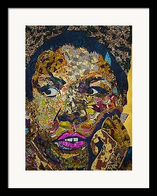 Textile Art Framed Prints